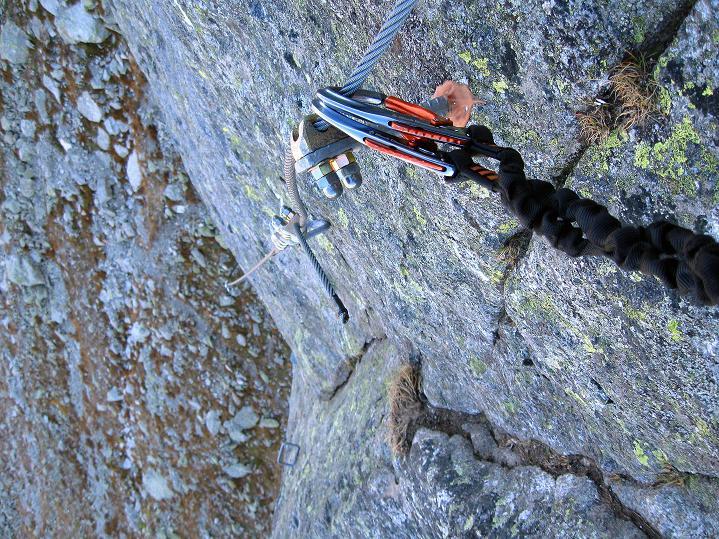 Foto: Andreas Koller / Klettersteig Tour / Klettersteig Silvapark (2671 m) / 10.10.2009 14:40:23