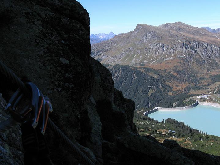Foto: Andreas Koller / Klettersteig Tour / Klettersteig Silvapark (2671 m) / 10.10.2009 14:39:56