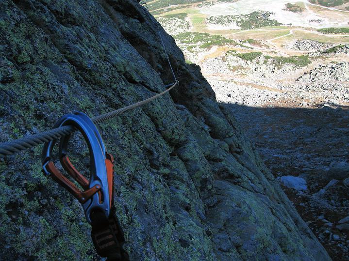 Foto: Andreas Koller / Klettersteig Tour / Klettersteig Silvapark (2671 m) / 10.10.2009 14:39:03