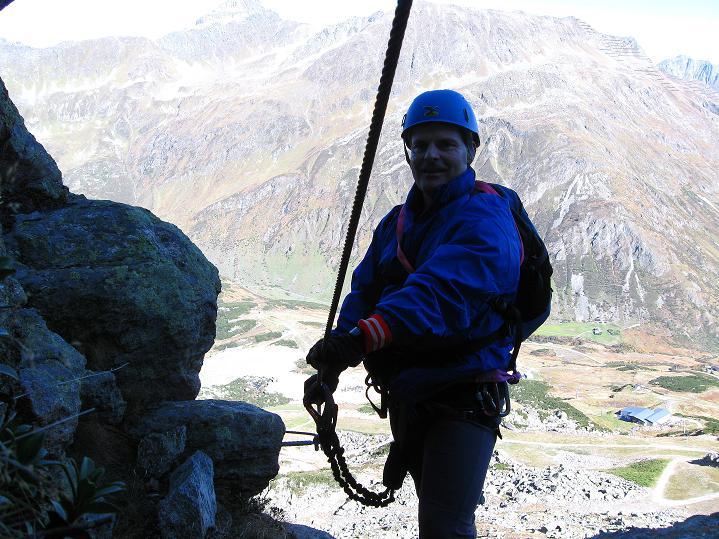 Foto: Andreas Koller / Klettersteig Tour / Klettersteig Silvapark (2671 m) / 10.10.2009 14:38:54