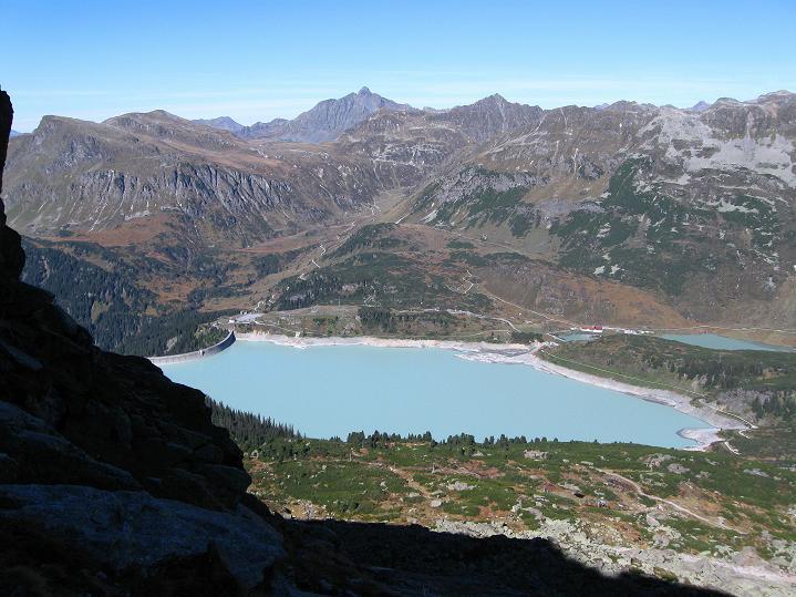 Foto: Andreas Koller / Klettersteig Tour / Klettersteig Silvapark (2671 m) / 10.10.2009 14:38:47