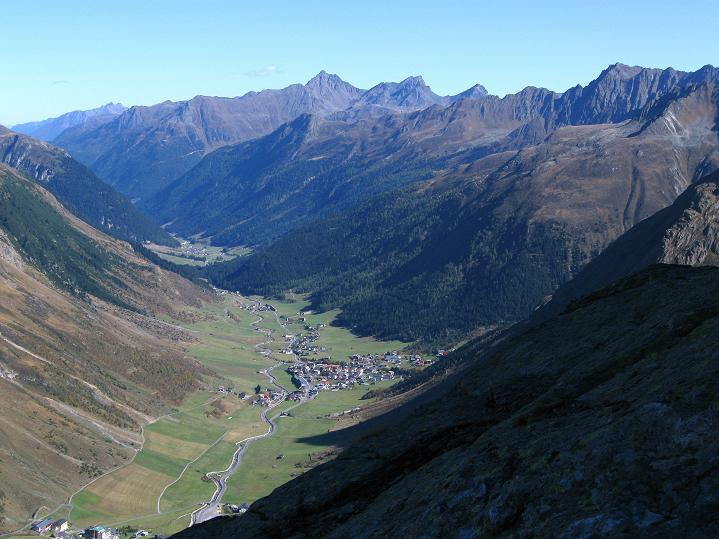 Foto: Andreas Koller / Klettersteig Tour / Klettersteig Silvapark (2671 m) / 10.10.2009 14:38:30