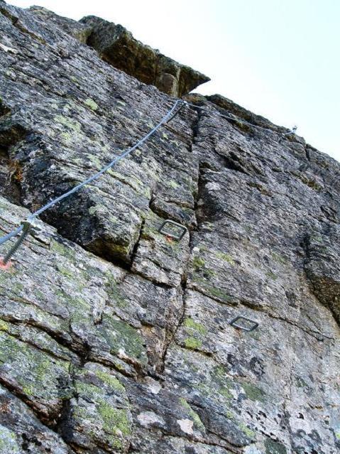 Foto: Andreas Koller / Klettersteig Tour / Klettersteig Silvapark (2671 m) / 10.10.2009 14:38:23