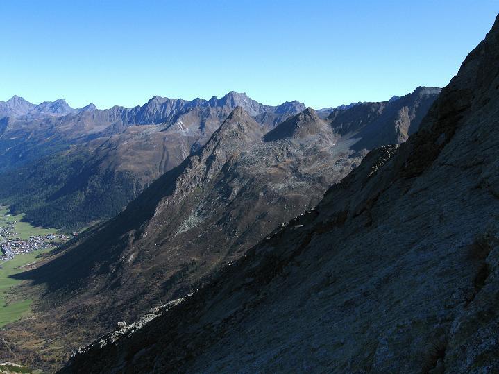 Foto: Andreas Koller / Klettersteig Tour / Klettersteig Silvapark (2671 m) / 10.10.2009 14:37:46