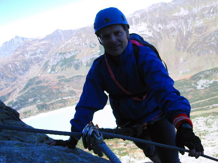 Foto: Andreas Koller / Klettersteig Tour / Klettersteig Silvapark (2671 m) / 10.10.2009 14:37:39