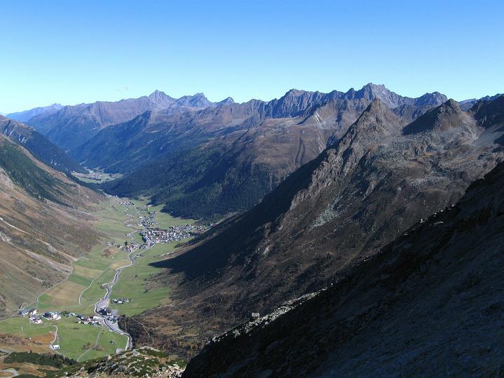 Foto: Andreas Koller / Klettersteig Tour / Klettersteig Silvapark (2671 m) / Paznaun / 10.10.2009 14:37:30