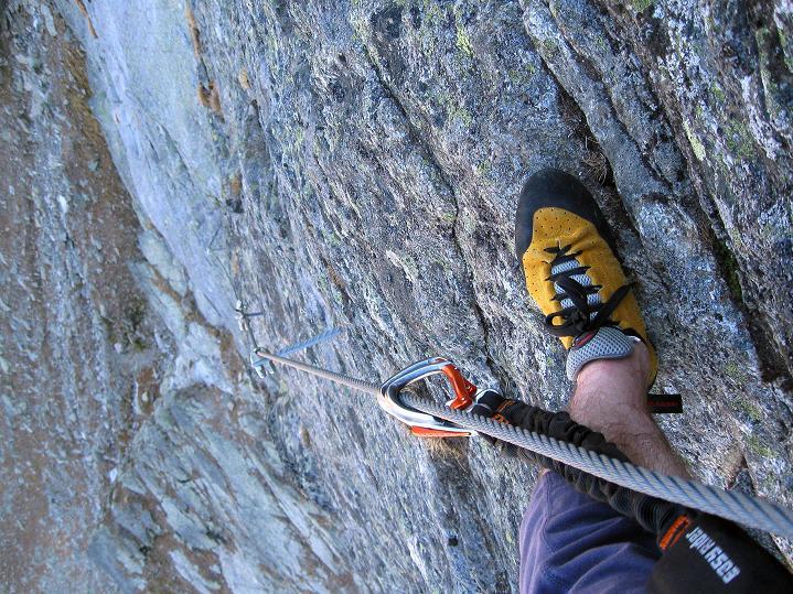 Foto: Andreas Koller / Klettersteig Tour / Klettersteig Silvapark (2671 m) / 10.10.2009 14:36:48