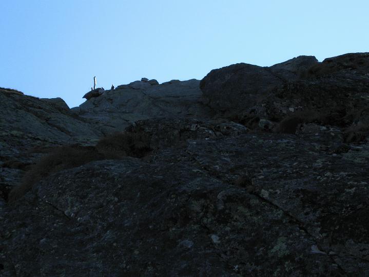 Foto: Andreas Koller / Klettersteig Tour / Klettersteig Silvapark (2671 m) / 10.10.2009 14:36:21