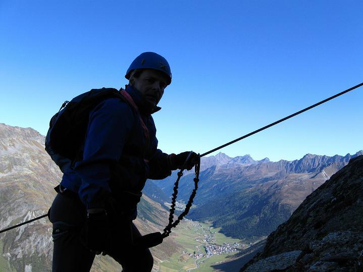 Foto: Andreas Koller / Klettersteig Tour / Klettersteig Silvapark (2671 m) / 10.10.2009 14:36:15