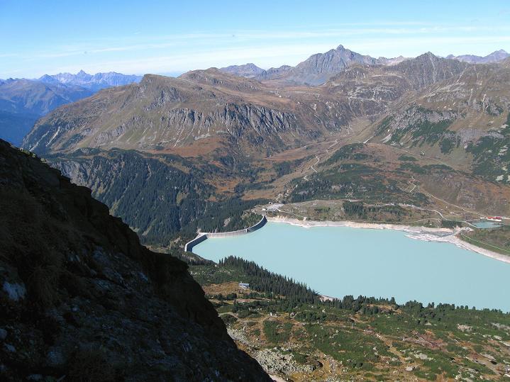 Foto: Andreas Koller / Klettersteig Tour / Klettersteig Silvapark (2671 m) / 10.10.2009 14:35:50