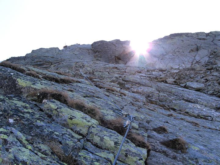 Foto: Andreas Koller / Klettersteig Tour / Klettersteig Silvapark (2671 m) / 10.10.2009 14:35:19