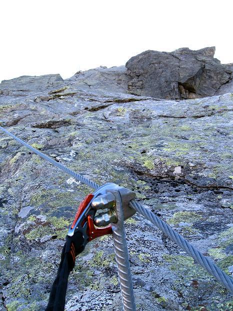 Foto: Andreas Koller / Klettersteig Tour / Klettersteig Silvapark (2671 m) / 10.10.2009 14:34:56