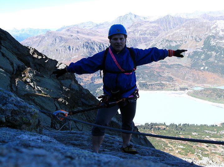 Foto: Andreas Koller / Klettersteig Tour / Klettersteig Silvapark (2671 m) / 10.10.2009 14:34:37