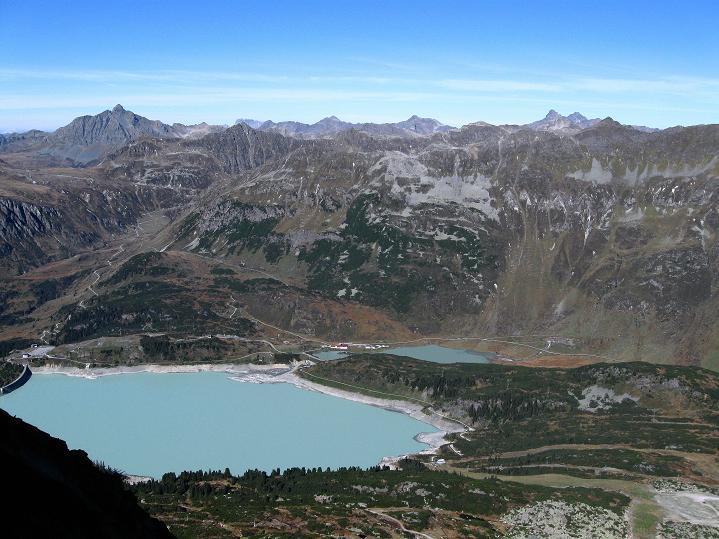 Foto: Andreas Koller / Klettersteig Tour / Klettersteig Silvapark (2671 m) / 10.10.2009 14:34:30