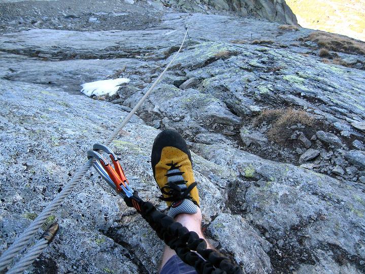 Foto: Andreas Koller / Klettersteig Tour / Klettersteig Silvapark (2671 m) / 10.10.2009 14:34:23