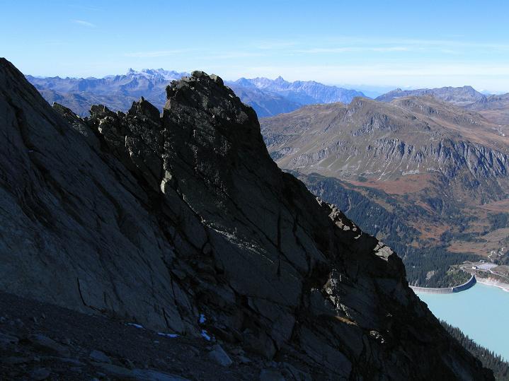 Foto: Andreas Koller / Klettersteig Tour / Klettersteig Silvapark (2671 m) / 10.10.2009 14:34:12