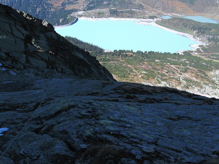 Foto: Andreas Koller / Klettersteig Tour / Klettersteig Silvapark (2671 m) / 10.10.2009 14:33:52