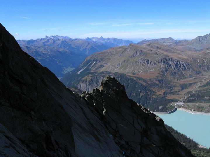 Foto: Andreas Koller / Klettersteig Tour / Klettersteig Silvapark (2671 m) / 10.10.2009 14:33:30