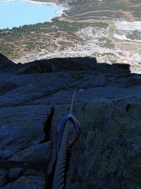 Foto: Andreas Koller / Klettersteig Tour / Klettersteig Silvapark (2671 m) / 10.10.2009 14:33:23