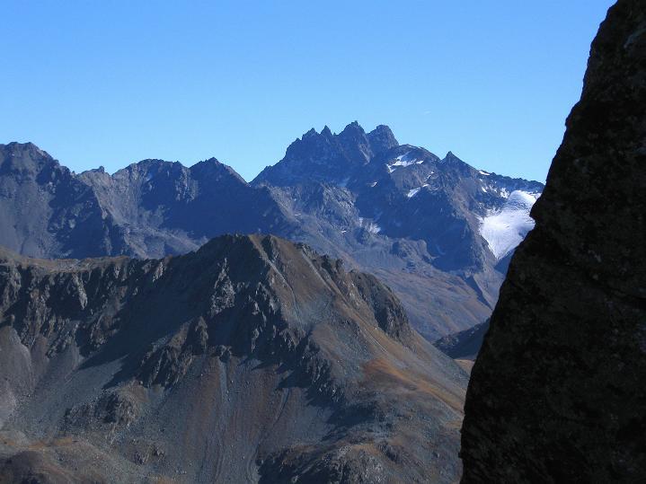 Foto: Andreas Koller / Klettersteig Tour / Klettersteig Silvapark (2671 m) / Fluchthorn (3399 m) / 10.10.2009 14:33:03