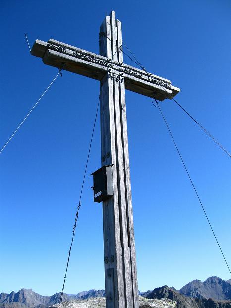 Foto: Andreas Koller / Klettersteig Tour / Klettersteig Silvapark (2671 m) / Auf der Ballunspitze / 10.10.2009 14:32:48