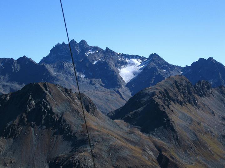Foto: Andreas Koller / Klettersteig Tour / Klettersteig Silvapark (2671 m) / Fluchthorn (3399 m) / 10.10.2009 14:32:17