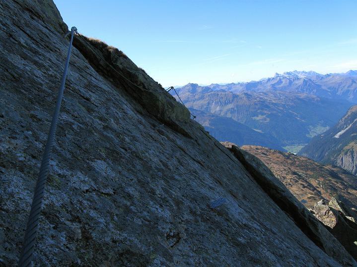 Foto: Andreas Koller / Klettersteig Tour / Klettersteig Silvapark (2671 m) / Zum Ausstieg / 10.10.2009 14:29:29