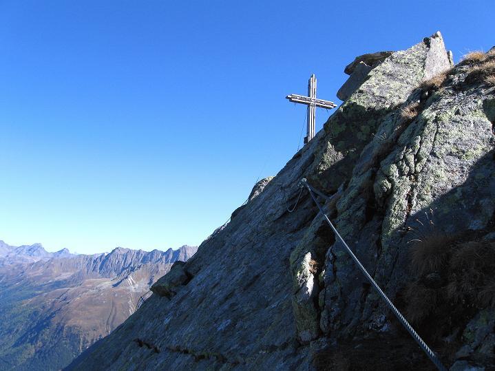 Foto: Andreas Koller / Klettersteig Tour / Klettersteig Silvapark (2671 m) / 10.10.2009 14:29:14
