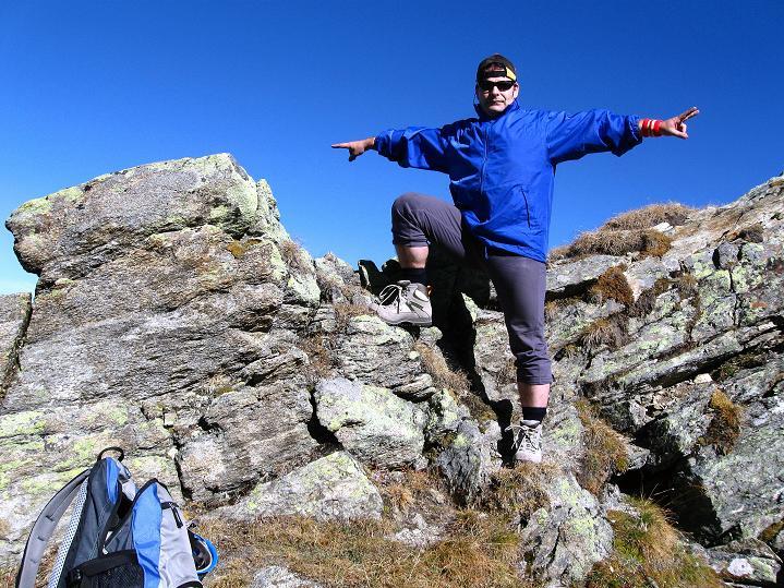 Foto: Andreas Koller / Klettersteig Tour / Klettersteig Silvapark (2671 m) / 10.10.2009 14:28:32