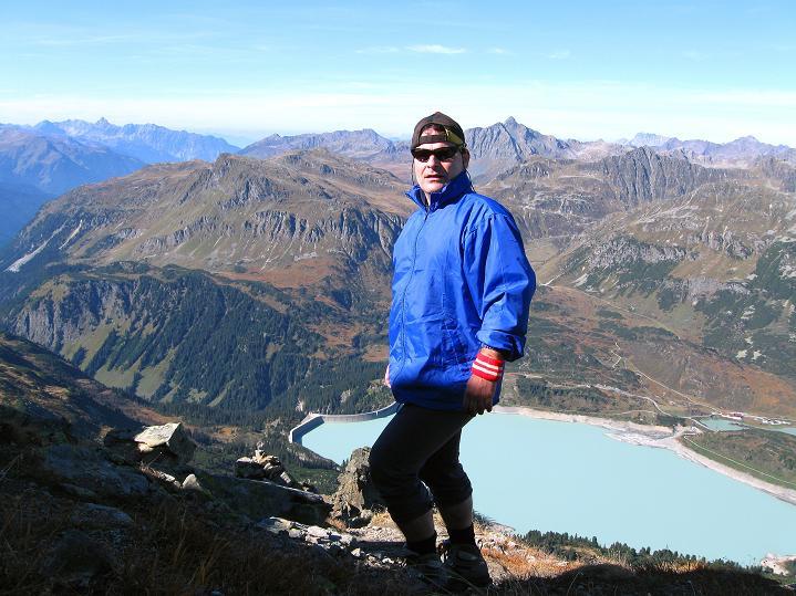 Foto: Andreas Koller / Klettersteig Tour / Klettersteig Silvapark (2671 m) / 10.10.2009 14:28:03