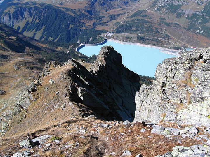 Foto: Andreas Koller / Klettersteig Tour / Klettersteig Silvapark (2671 m) / NW-Grat = Abstiegsroute am Normalweg / 10.10.2009 14:27:33