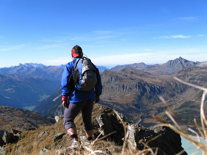 Foto: Andreas Koller / Klettersteig Tour / Klettersteig Silvapark (2671 m) / Abstieg am Normalweg / 10.10.2009 14:27:08