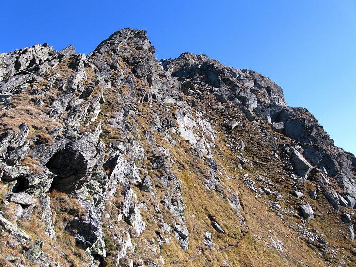 Foto: Andreas Koller / Klettersteig Tour / Klettersteig Silvapark (2671 m) / 10.10.2009 14:26:35