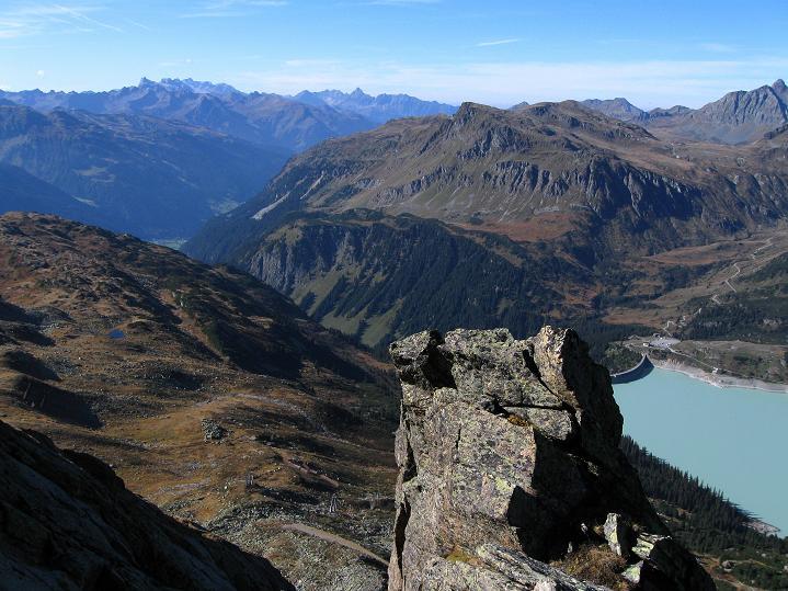 Foto: Andreas Koller / Klettersteig Tour / Klettersteig Silvapark (2671 m) / 10.10.2009 14:25:52