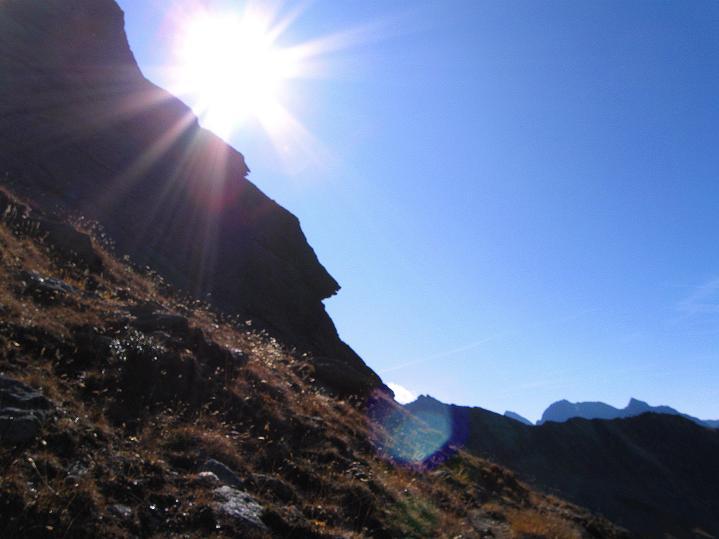 Foto: Andreas Koller / Klettersteig Tour / Klettersteig Silvapark (2671 m) / 10.10.2009 14:24:49
