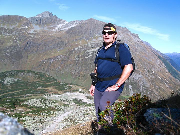 Foto: Andreas Koller / Klettersteig Tour / Klettersteig Silvapark (2671 m) / 10.10.2009 14:24:42