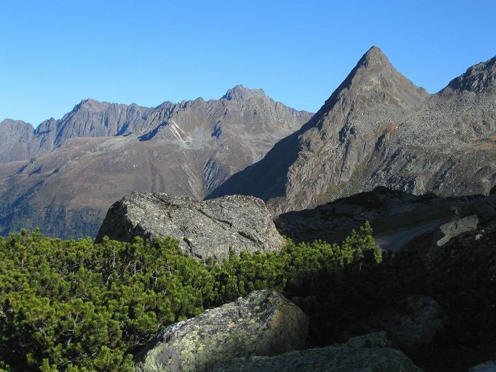 Foto: Andreas Koller / Klettersteig Tour / Klettersteig Silvapark (2671 m) / Östliche Silvretta / 10.10.2009 14:24:32