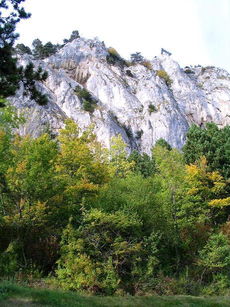 Foto: Andreas Koller / Klettersteig Tour / Frauenluckensteig und Völlerinsteig (892m) / 10.10.2009 00:49:49