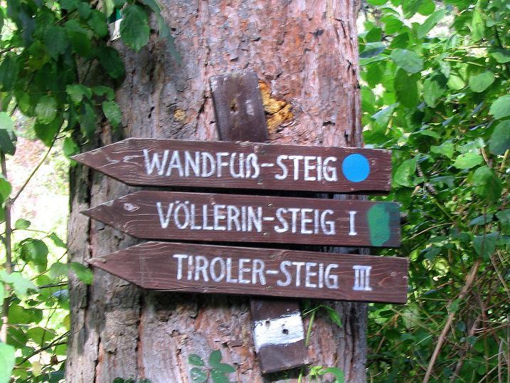 Foto: Andreas Koller / Klettersteig Tour / Frauenluckensteig und Völlerinsteig (892m) / 10.10.2009 00:49:44