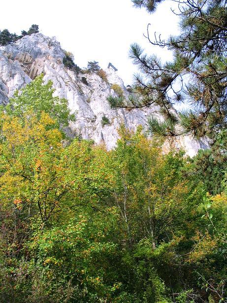 Foto: Andreas Koller / Klettersteig Tour / Frauenluckensteig und Völlerinsteig (892m) / 10.10.2009 00:49:39