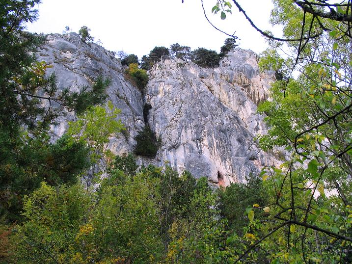 Foto: Andreas Koller / Klettersteig Tour / Frauenluckensteig und Völlerinsteig (892m) / 10.10.2009 00:49:34