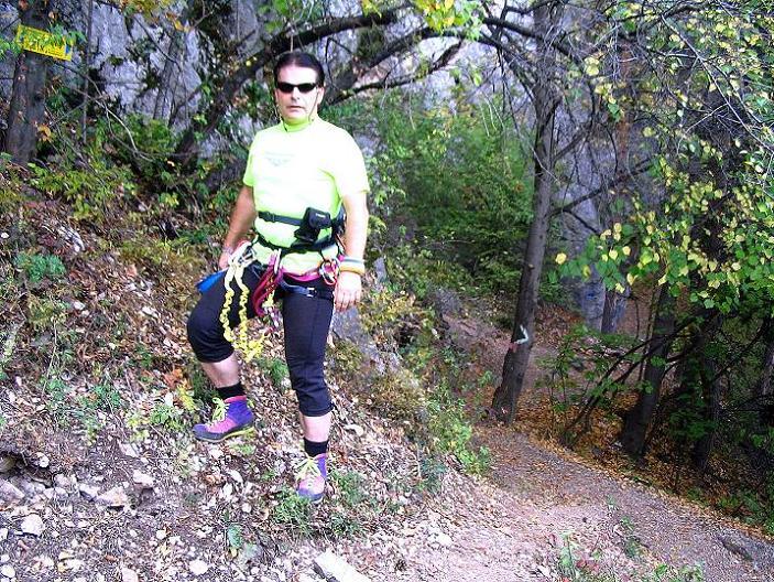 Foto: Andreas Koller / Klettersteig Tour / Frauenluckensteig und Völlerinsteig (892m) / 10.10.2009 00:48:48