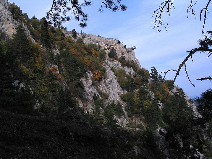 Foto: Andreas Koller / Klettersteig Tour / Frauenluckensteig und Völlerinsteig (892m) / 10.10.2009 00:44:51