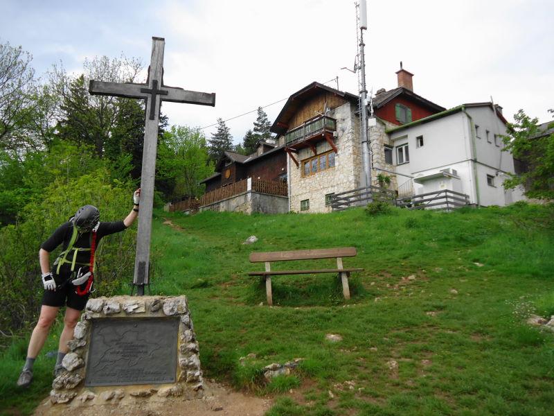 Foto: Günter Siegl / Klettersteig Tour / Ganghofersteig (826m) / Herrgottschnitzerhaus / 03.05.2014 21:04:32