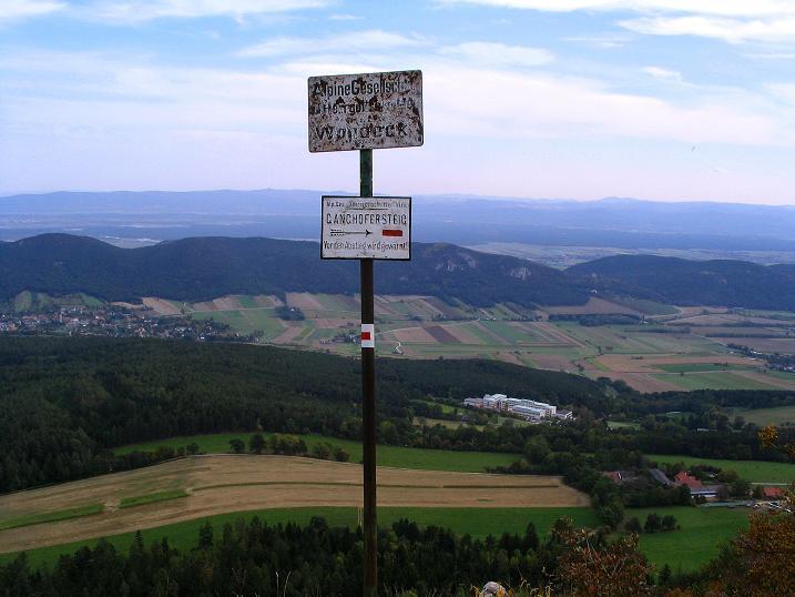 Foto: Andreas Koller / Klettersteig Tour / Ganghofersteig (826m) / 09.10.2009 00:59:11