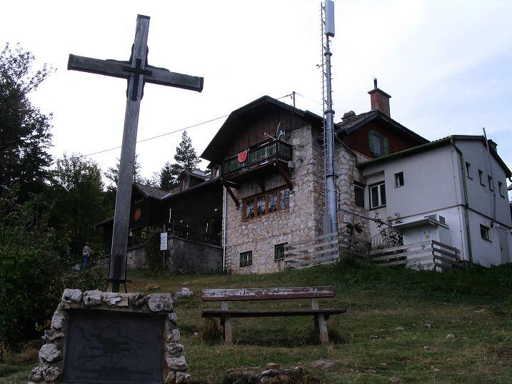 Foto: Andreas Koller / Klettersteig Tour / Ganghofersteig (826m) / Herrgottschnitzerhaus / 09.10.2009 00:59:06