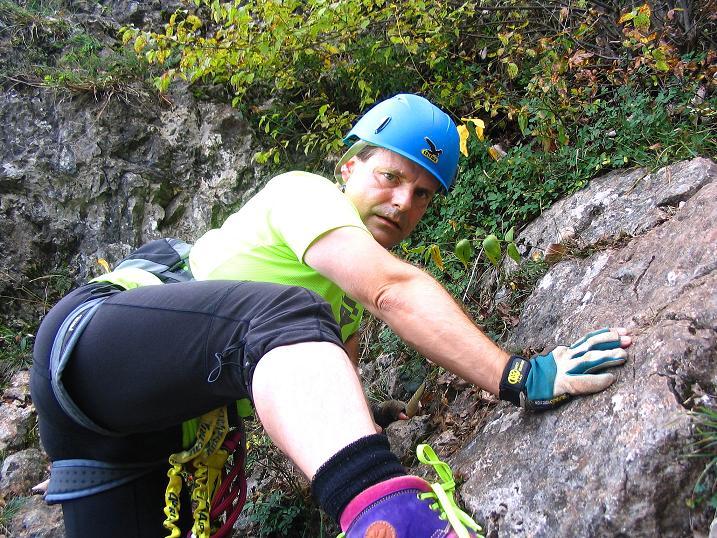 Foto: Andreas Koller / Klettersteig Tour / Ganghofersteig (826m) / 09.10.2009 00:58:36