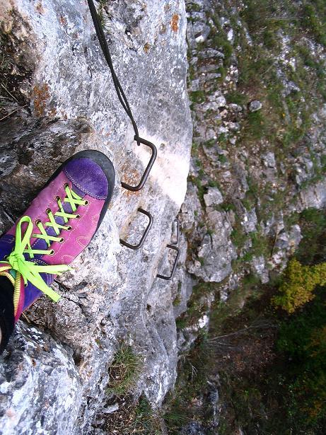 Foto: Andreas Koller / Klettersteig Tour / Ganghofersteig (826m) / 09.10.2009 00:56:32
