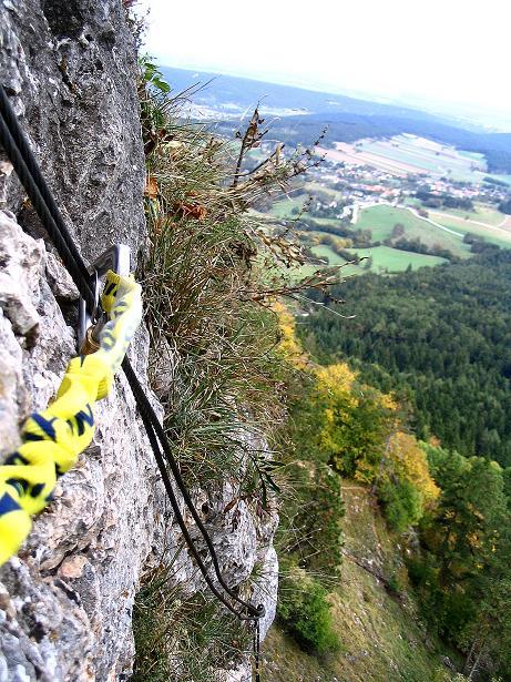 Foto: Andreas Koller / Klettersteig Tour / Ganghofersteig (826m) / 09.10.2009 00:56:24