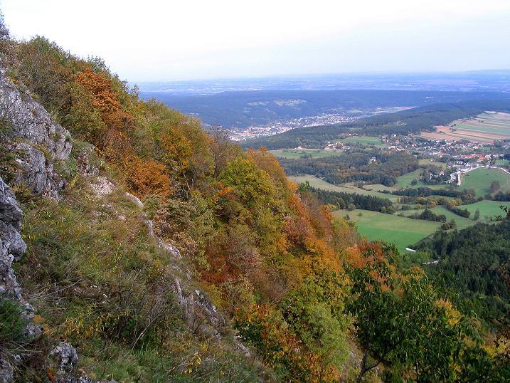 Foto: Andreas Koller / Klettersteig Tour / Ganghofersteig (826m) / Wieder zurück beim Hergottschnitzerhaus / 09.10.2009 00:55:30